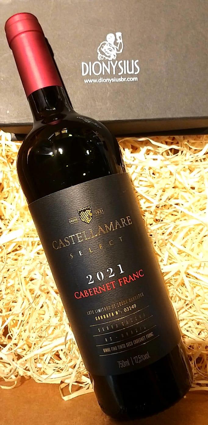 Vinho Castellamare Cabernet Franc 2021 750ml