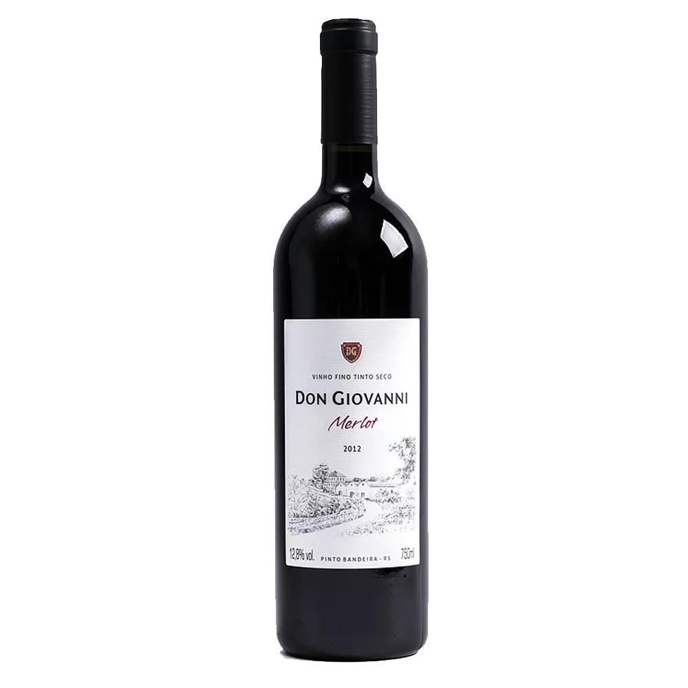Vinho Don Giovanni Merlot 2012 750ml