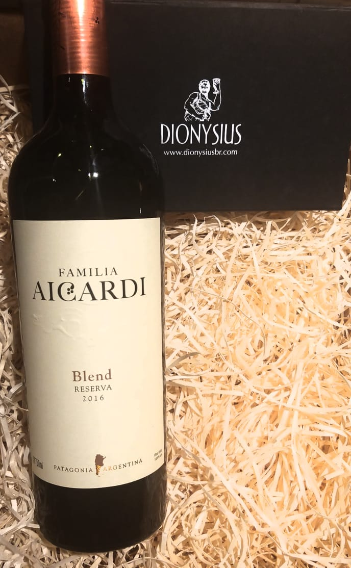 Vinho Tinto Familia Aicardi Reserva Blend 2016 750ml