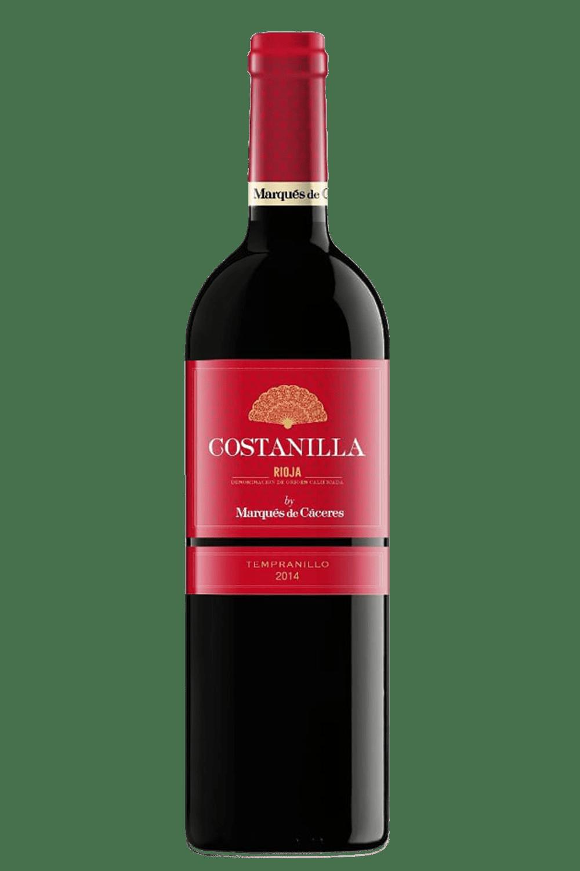 Vinho Tinto Marques De Caceres Costanilla Tempranillo 2018 750ml