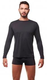 Camisa de proteção UV Preto