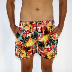 Short Tactel Masculino Tropicalismo