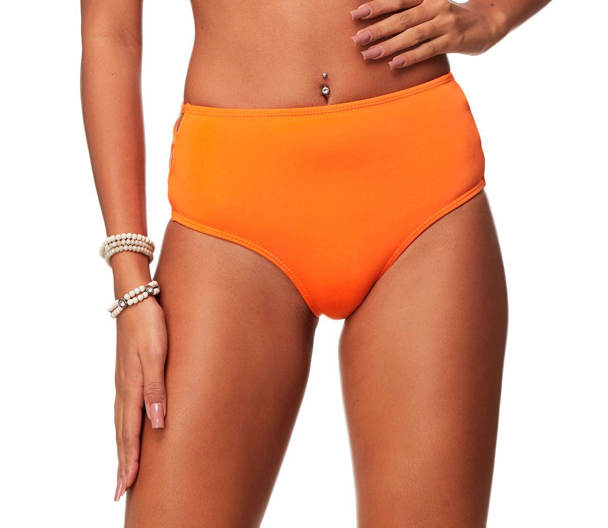 Calcinha Hot Pants Tiras Lateral Citrus