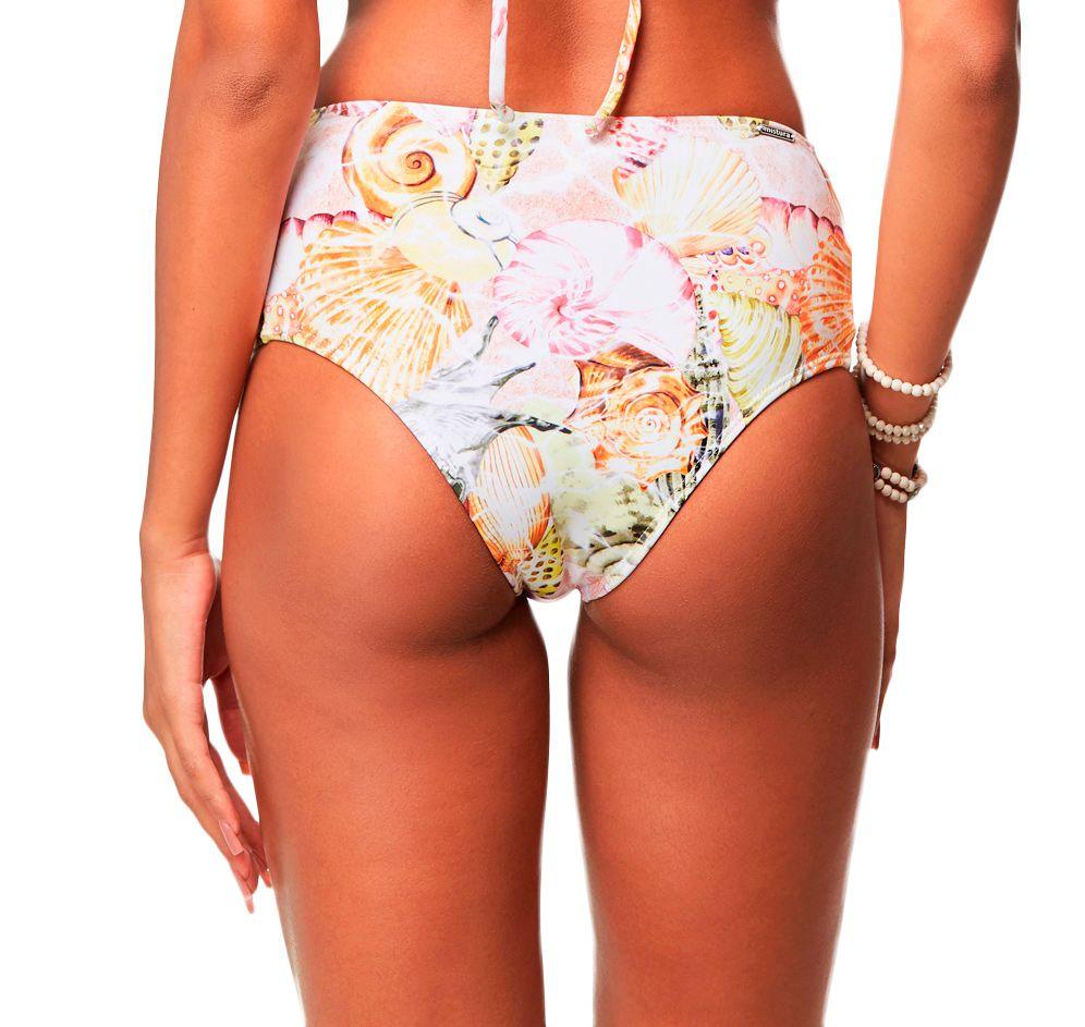 Calcinha Hot Pants Tiras Lateral Conchitas