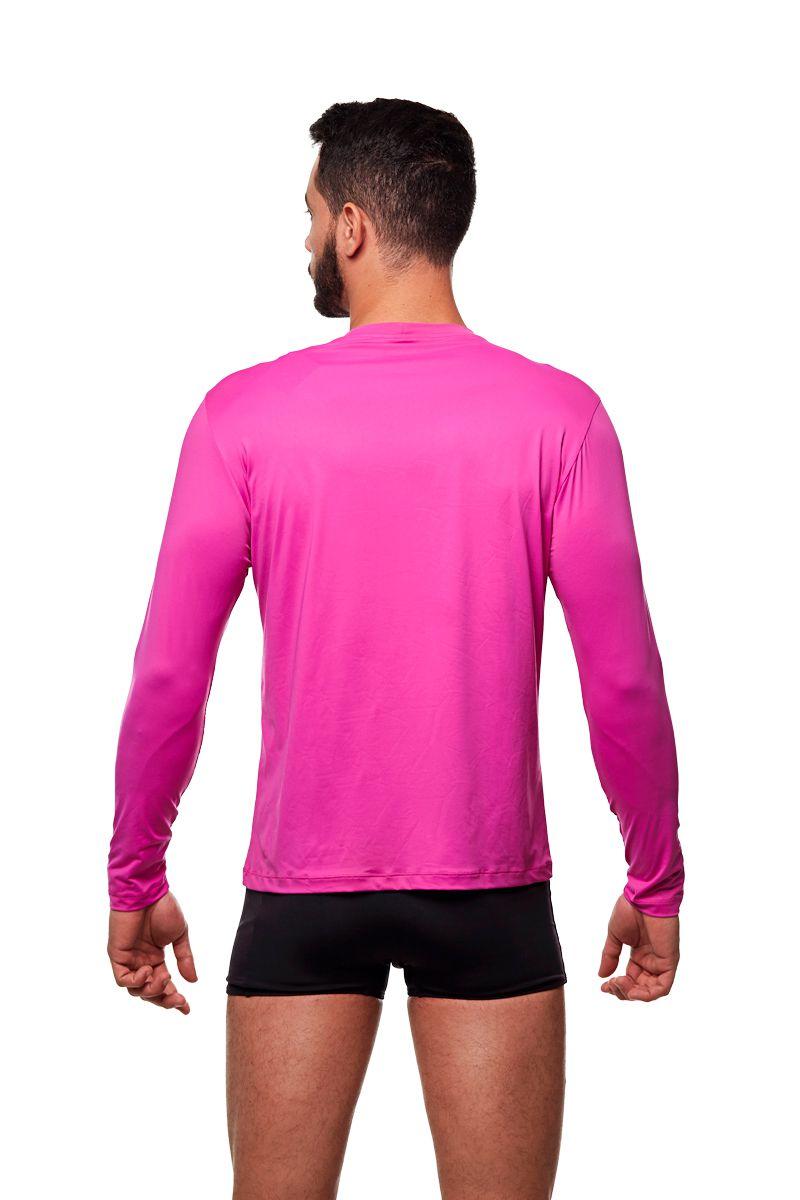 Camisa de proteção UV Pink