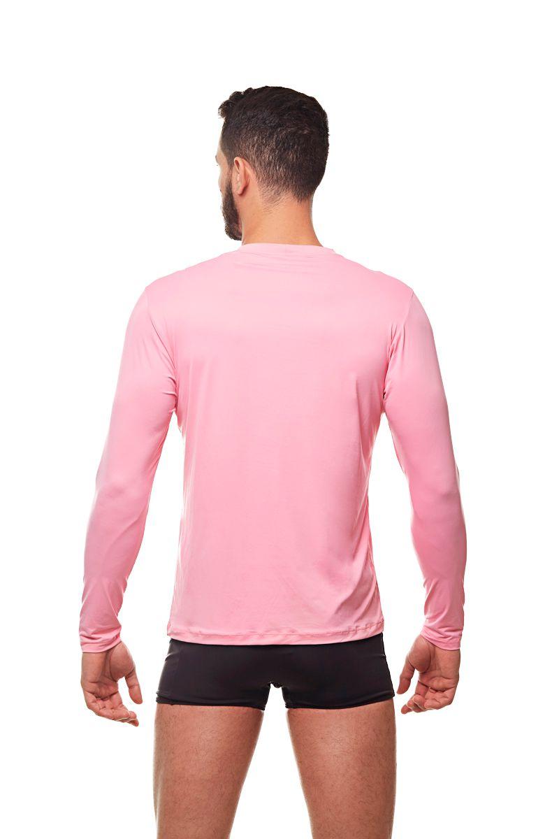 Camisa de proteção UV Rosa
