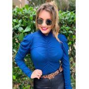Blusa Canelada Drapeada TRL 23