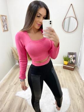 Blusa Entrelace POT 43 Pink