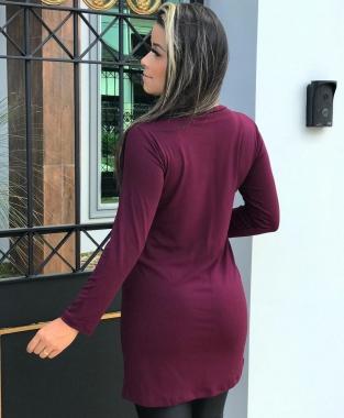 Blusa Viscolycra Mullet Cruzada AZV 04