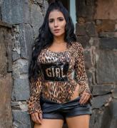 Body Flare Animal Print Girl FBX 06