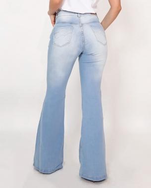 Calça Flare Ideal Para Mulheres Baixas CNS 20655