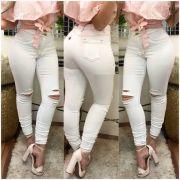Calça Jeans Branco Off CCJ 02