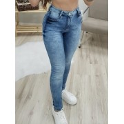 Calça Jeans com Cinta Modeladora MLD 095