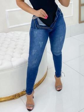Calça Jeans Com Cinta Modeladora MLD 9921