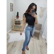 Calça Jeans Com Cinto Clipe MLD 097