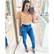 Calca Jeans Com Cinto Pilily MLD 077