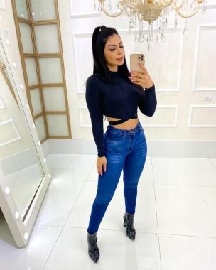 Calça Jeans Levanta Bumbum MLD 9915