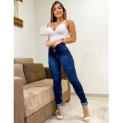 Calça Jeans Estrelas com 2 Botões CNS 15864