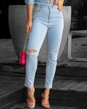 Calça Jeans MOM C/Elastano CNS 00207cr