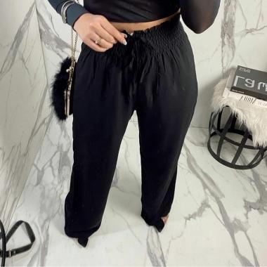 Calça Pantalona Forrada Cós Elastex TOD 23
