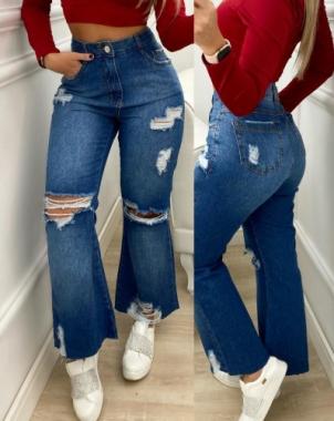 Calça Wide Jeans CCJ 998