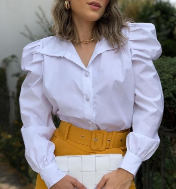 Camisa Tricoline Princesa EPZ 01