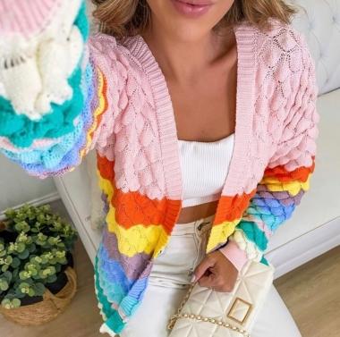 Casaco Escamas Colors Pride POT 01