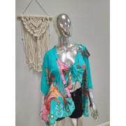 Cjto Cropped e Kimono LUM 06