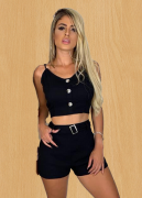 Conjunto Crop Shorts Viv 16