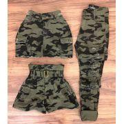 Saia Jeans Militar CCJ 18