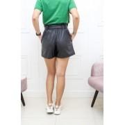 Shorts Clochard Couro Eco TOD 21
