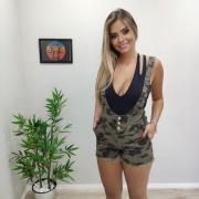 Shorts com Suspensório Militar DPO 34
