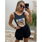 Shorts Godê Viscose Texturizada DMY 304