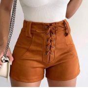 Shorts Ilhos Suede JAN 48