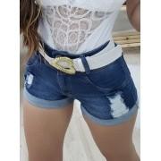 Shorts Jeans Barra Italiana MLD 101