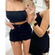 Shorts Jeans Black CCJ 02