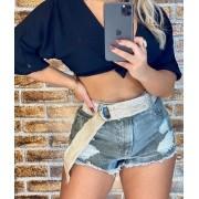 Shorts Jeans Com Cinto MAS 06