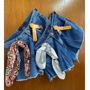 Shorts Jeans Godê Lenço MLD 100