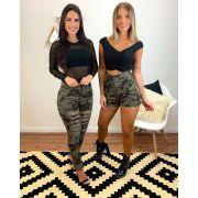 Shorts Jeans Militar CCJ 19