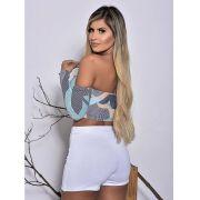 Shorts Saia Poliamida V Luxxo LOL 29