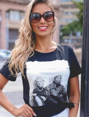 T-Shirt 2PAC MADONNA GBB 209