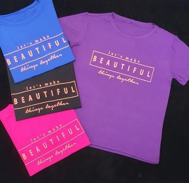 T-Shirt Beautiful GBB 306 - PRETO