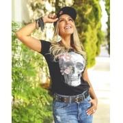 T-Shirt CAVEIRA FLORES GBB 213