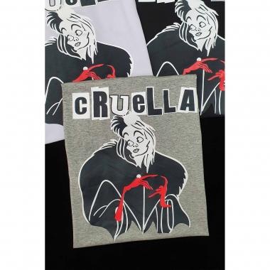 T-shirt Cruella GBB 298 - CINZA