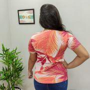 T-shirt Folhas Laranja GBB 144