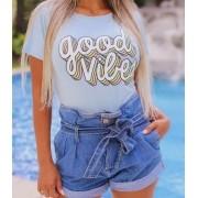 T-Shirt GOOD VIBES GBB 237