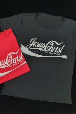 T-Shirt Jesus Coca GBB 301 - PRETO