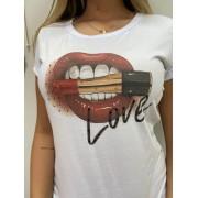 T-Shirt Love Boca Batom DAJ 22