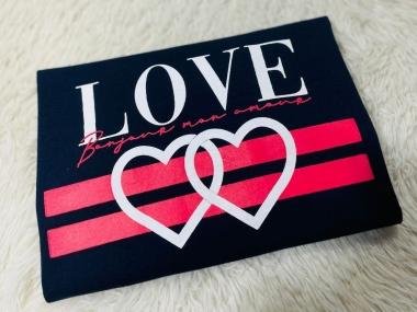 T-Shirt Love WGR 28 - Marinho