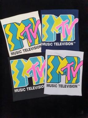 T-Shirt MTV GBB 309 - PRETO